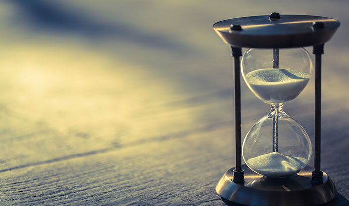timeglass. Foto.