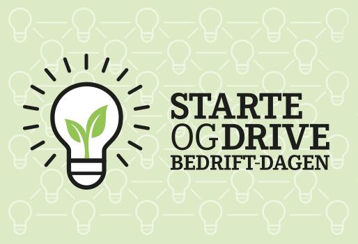 Starte og drive bedrift-dagen. Logo.